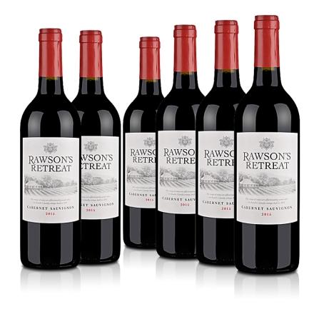 《【 酒仙网自营 】澳大利亚洛神山庄赤霞珠红葡萄酒(6瓶装) ¥199.00》