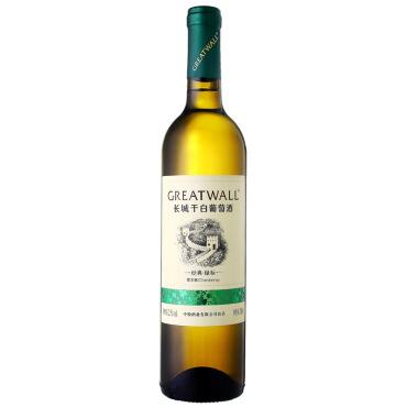 《【 京东自营 】长城经典系列绿标霞多丽干白葡萄酒 ¥32.00》
