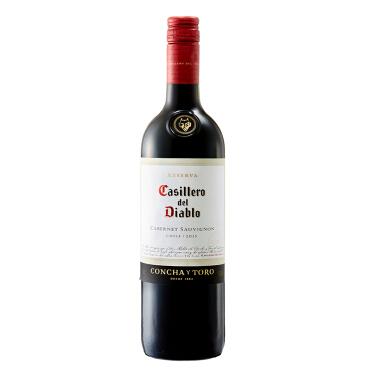 《【 京东自营 】干露红魔鬼卡本妮苏维翁红葡萄酒(赠皮盒) ¥46.30》