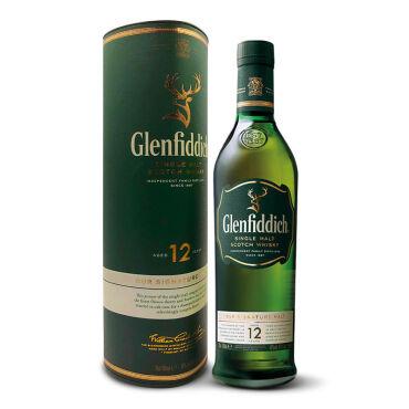 《【 京东自营 】格兰菲迪12年苏格兰单一麦芽威士忌 700ml ¥159.00》