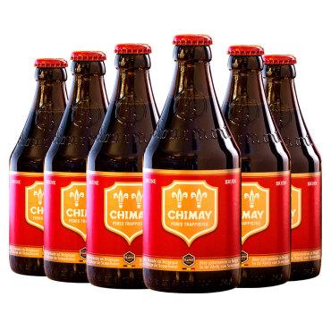 《【 京东自营 】比利时智美Chimay精酿啤酒礼盒装 330ml*6瓶 ¥69.00》
