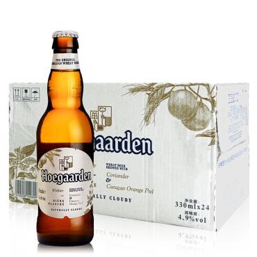 《【 京东商城 】比利时啤酒福佳白啤酒 330ml*24  ¥129.00》