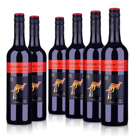 《【 酒仙网自营 】黄尾袋鼠加本力苏维翁红葡萄酒(6瓶装) ¥202.00》