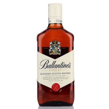 《【 京东自营 】百龄坛(Ballantine)洋酒 特醇苏格兰威士忌 700ml ¥89.00》