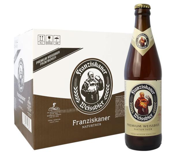 《【京东自营】范佳乐(原教士)小麦啤酒 450ml*12瓶 75.29元(双重优惠)》