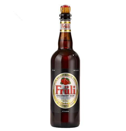 《【京东自营】比利时 Fruli芙力草莓精酿啤酒 750ml 34.6元(双重优惠)》