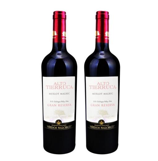 《【京东商城】玛琪古 智利 梅洛马尔贝克典藏干红 2瓶 89元(双重优惠)》