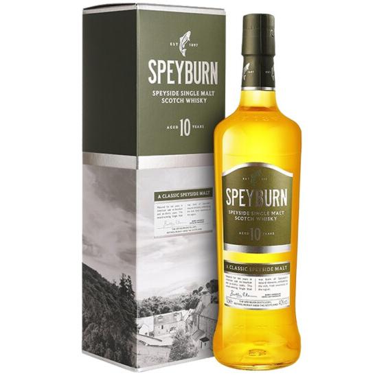 《【京东商城】圣贝本(Speyburn)10年 单一麦芽威士忌 700ml 159元(双重优惠)》