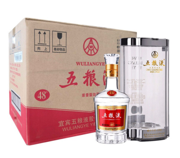 《【京东】五粮液 普五 48度 500ml*6瓶 4989元(双重优惠)》