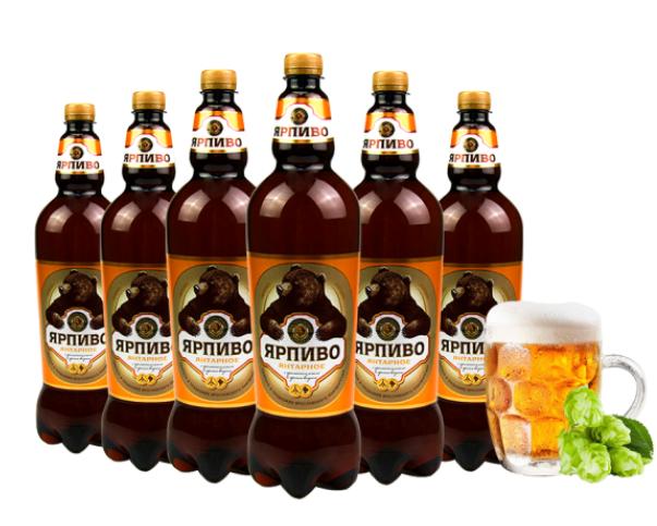 《【京东】棕熊 波罗的海琥珀棕熊啤酒 1.35L*6瓶  69元(双重优惠)》