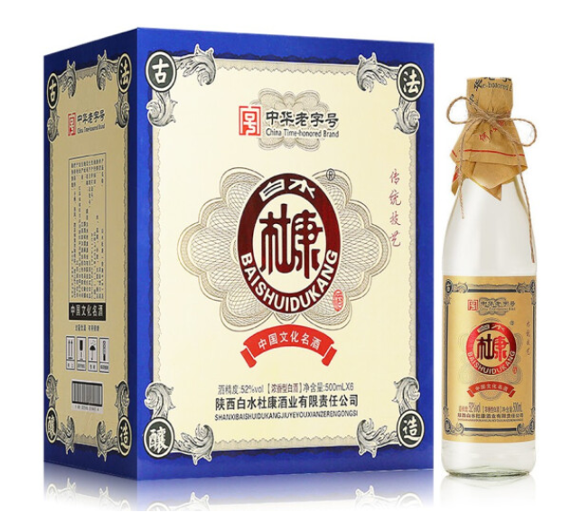 《【京东】白水杜康酒 52度 500ml*6 79元(双重优惠)》