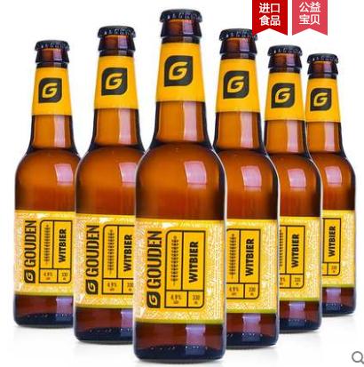 《【天猫】6瓶 比利时豪登小麦白啤 32元(需用券)》