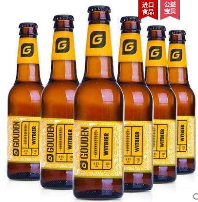 《【天猫】比利时进口精酿 豪登小麦白啤 6瓶 29.9元(需用券)》