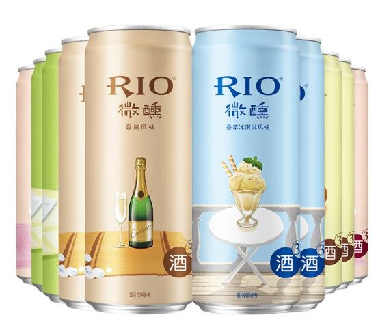 《【京东自营】锐澳RIO 微醺美好生活系列 预调鸡尾酒 330ml*10罐 27.5元(双重优惠)》